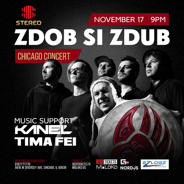 Zdob Si Zdub (Live Concert in Chicago)
