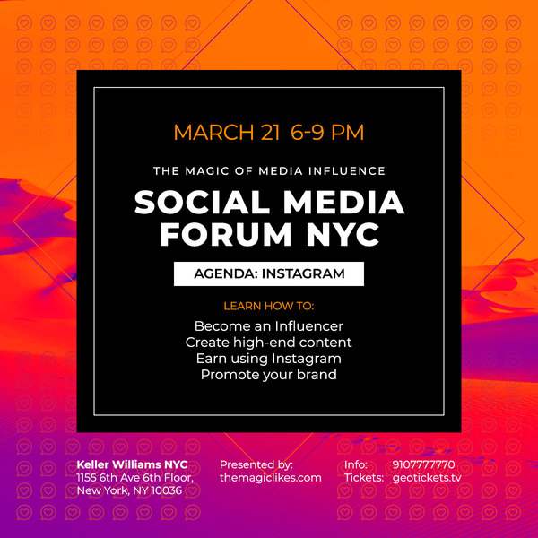 Social Media Forum NYC: Instagram