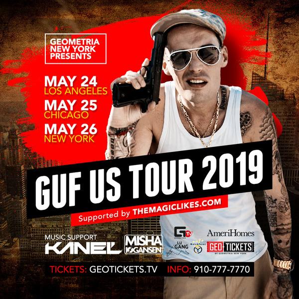 Guf Tour 2019