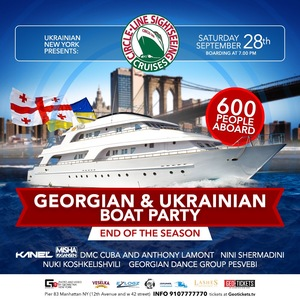 Georgian & Ukrainian Boat Party: End of the Season