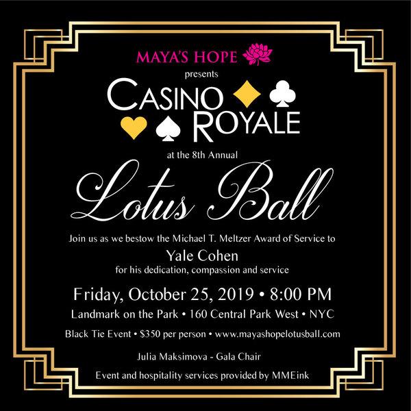 Maya's Hope Lotus Ball 2019, 8th Annual Gala