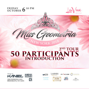 Miss Geometria New York 2018 Round 2