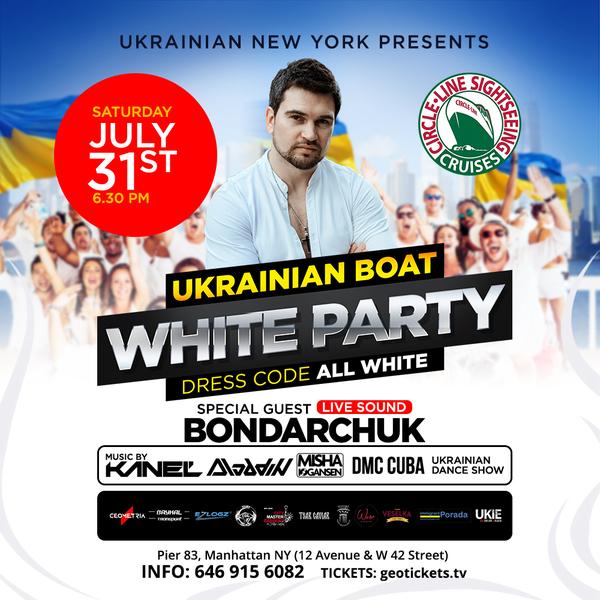 Ukrainian Boat Party #2 White Party
