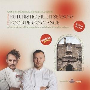 Futuristic Multi Sensory Food Experience (Additional Event)