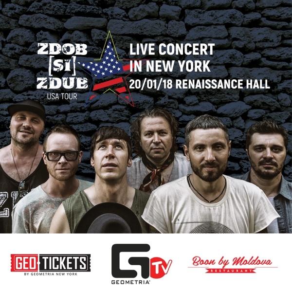 Zdob si Zdub (Live Concert) in NYC